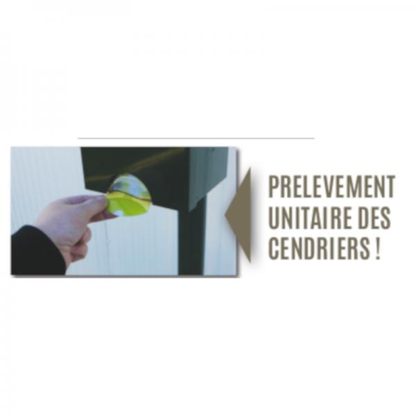 Distributeur de cendriers de poche