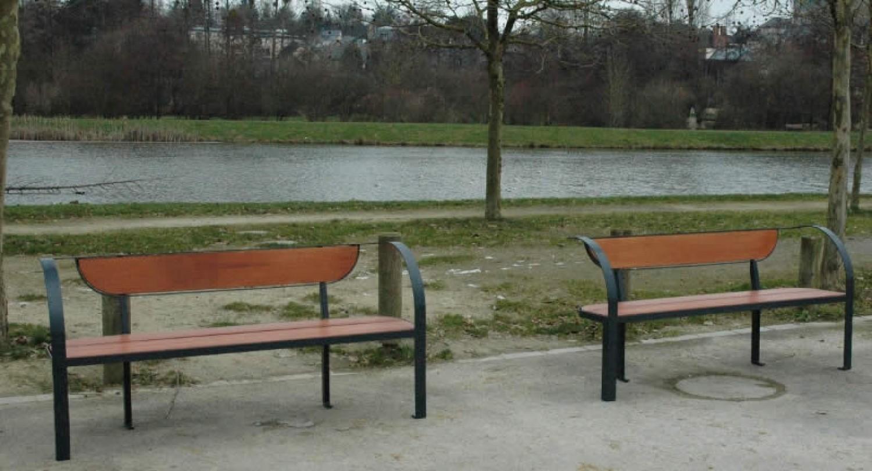 Banc pour espace public